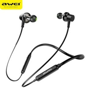awei g20 bluetooth earphone dual dynamic driver