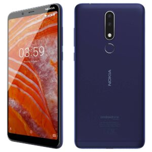 nokia 3.1 plus smartphone 3/32gb 13/8megapixel camera