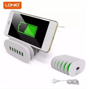 ldnio a6702 6 usb multiports charging station
