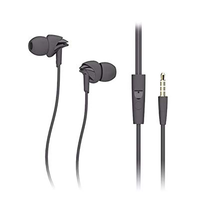 rock y1 stereo earphone in line control with mic