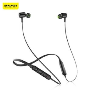 awei g30bl bluetooth earphone in-ear sports neckband magnetic earbuds