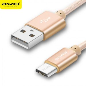 awei cl-10 powerbank cable for micro usb