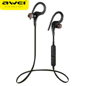 awei a890-bl bluetooth earphone wireless sports ear hook headphone