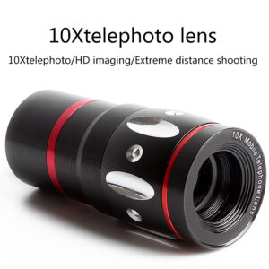 10x zoom lens telephoto mobile camera zoom lens