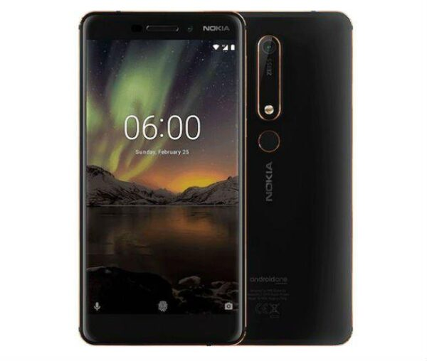 nokia 6.1 smart phone 3/32gb 16/8megapixel camera