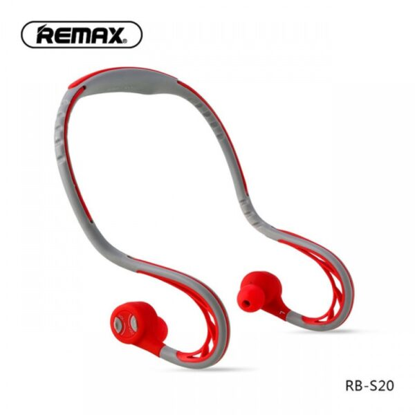 remax rb-s20 bluetooth earphone wireless stereo hanging in-ear headphone