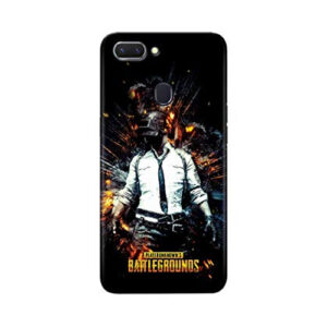 realme x new stylish pubg glass print back case cover