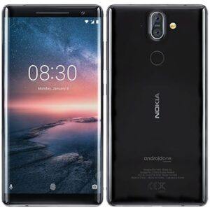 nokia 8 smart phone 4/64gb 13/13megapixel camera