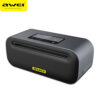 awei y600 bluetooth speakers nfc aluminum alloy metal portable, csr 4.1, support aux