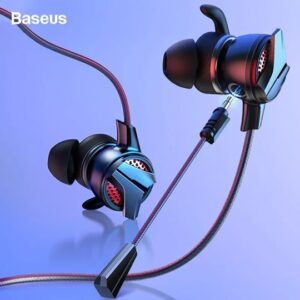 BASEUS GAMO H15 Wired Gaming Headset with Dual Microphone