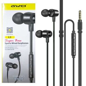 Awei L1 Super Bass Sport Wired Earphone
