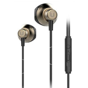 UiiSii HM12 Wired Half In-Ear Deep Bass Earphones With Mic